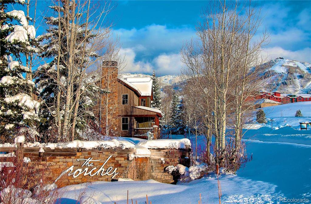 Photo of home for sale at 1317 Turning Leaf - Fractional Deed E Court, Steamboat Springs CO