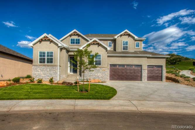 Photo of home for sale at 4796 Mariana Hills Circle, Loveland CO