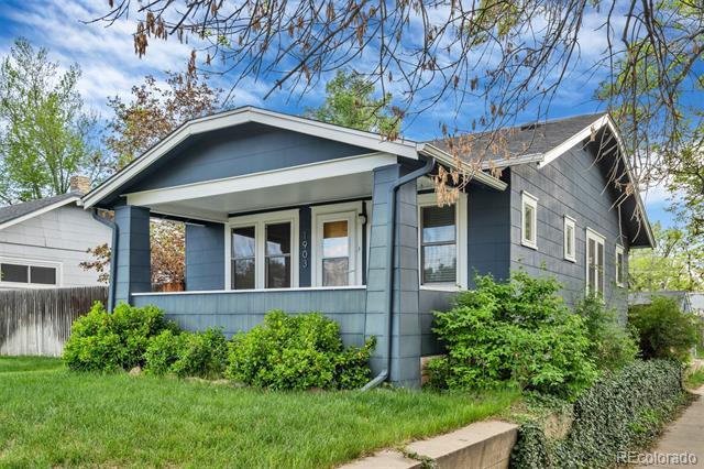Photo of home for sale at 1903 Franklin Street South, Denver CO