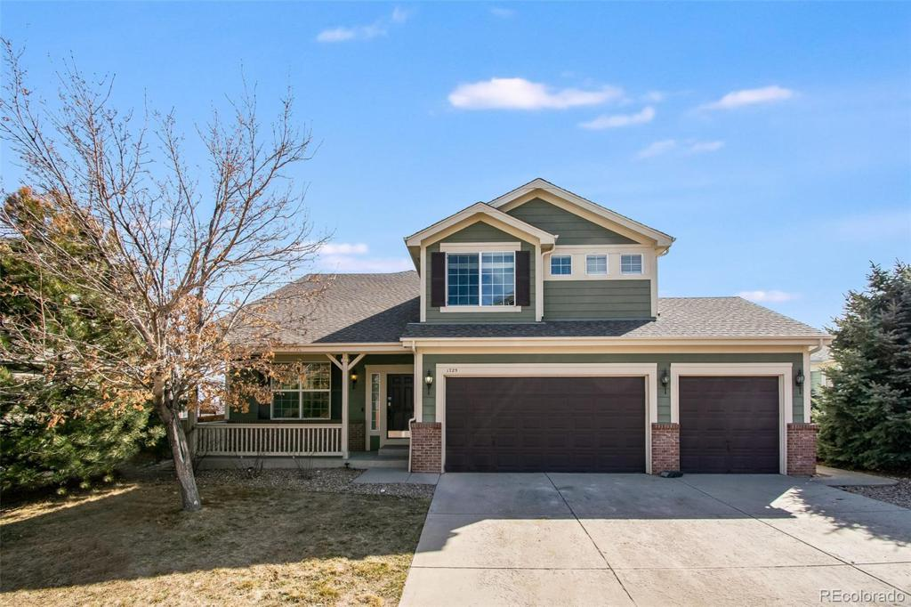 Photo of home for sale at 1725 Baguette Drive, Castle Rock CO