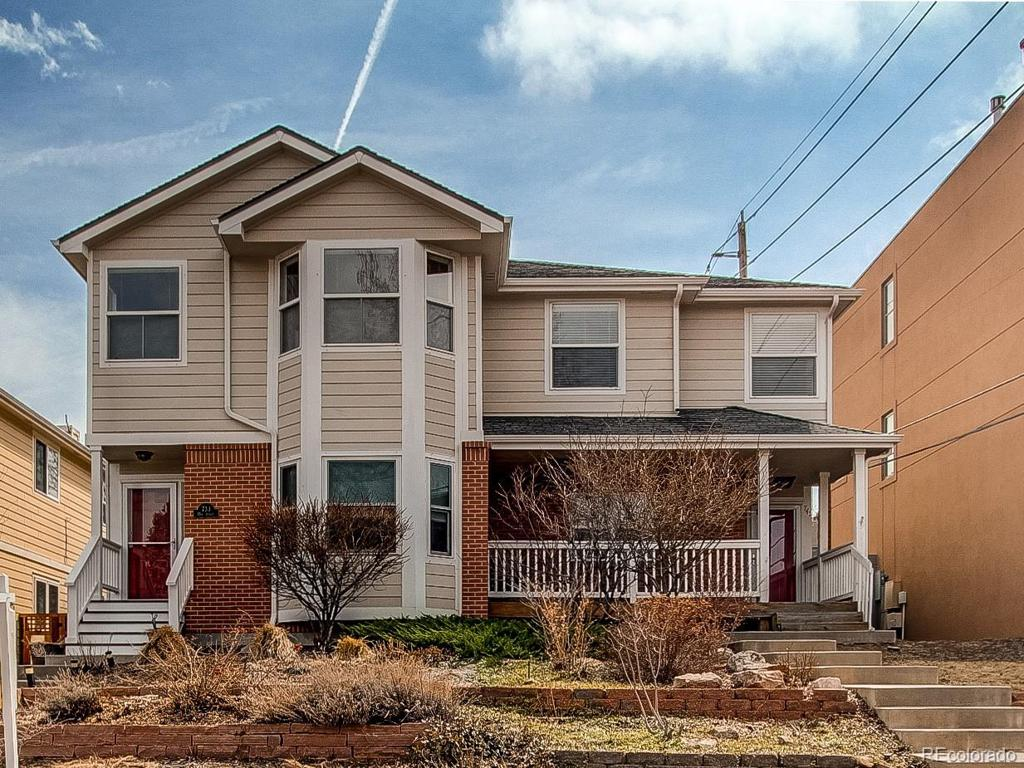 Photo of home for sale at 733 15th Street, Golden CO
