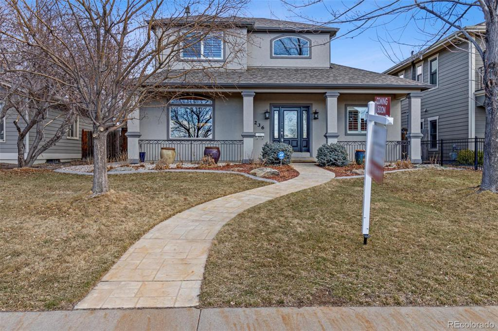 Photo of home for sale at 1236 Monroe Street S, Denver CO