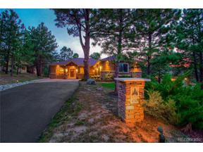 Property for sale at 670 Independence Drive, Larkspur,  Colorado 80118