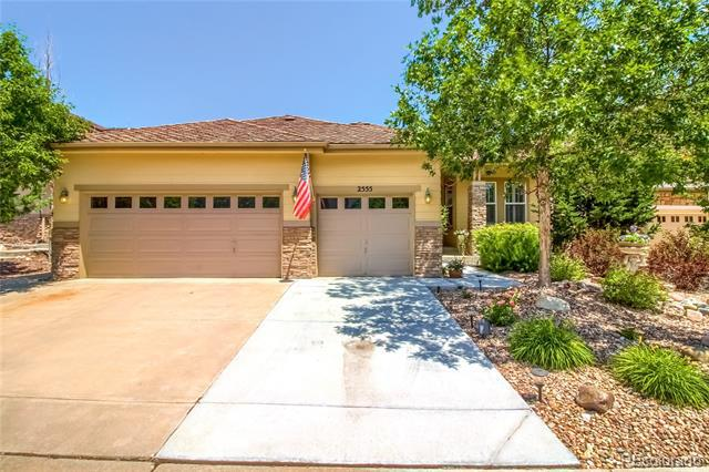 Photo of home for sale at 2555 Pemberly Avenue, Highlands Ranch CO