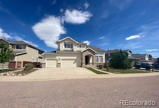 Photo of home for sale at 17193 Opal Hill Drive, Parker CO