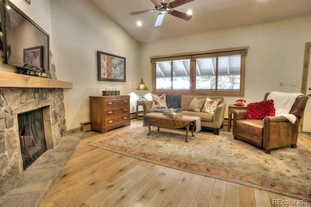 Photo of home for sale at 311 High Street South, Breckenridge CO