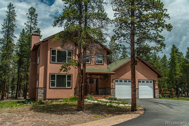 Photo of home for sale at 1551 Mountain Pines Court, Leadville CO