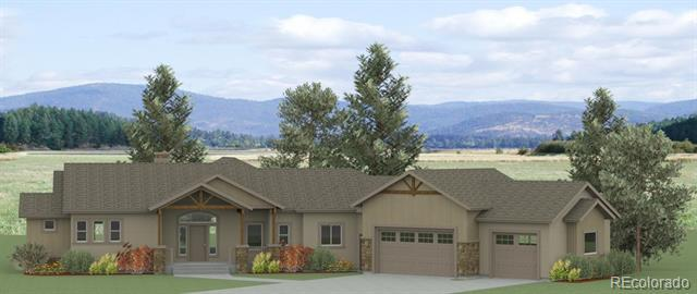 Photo of home for sale at 630 Meadowlark Lane, Woodland Park CO