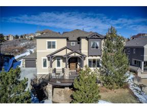 Property for sale at 1094 Buffalo Ridge Road, Castle Pines,  Colorado 80108