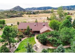 Property for sale at 7362 Rainbow Creek Road, Sedalia,  Colorado 80135