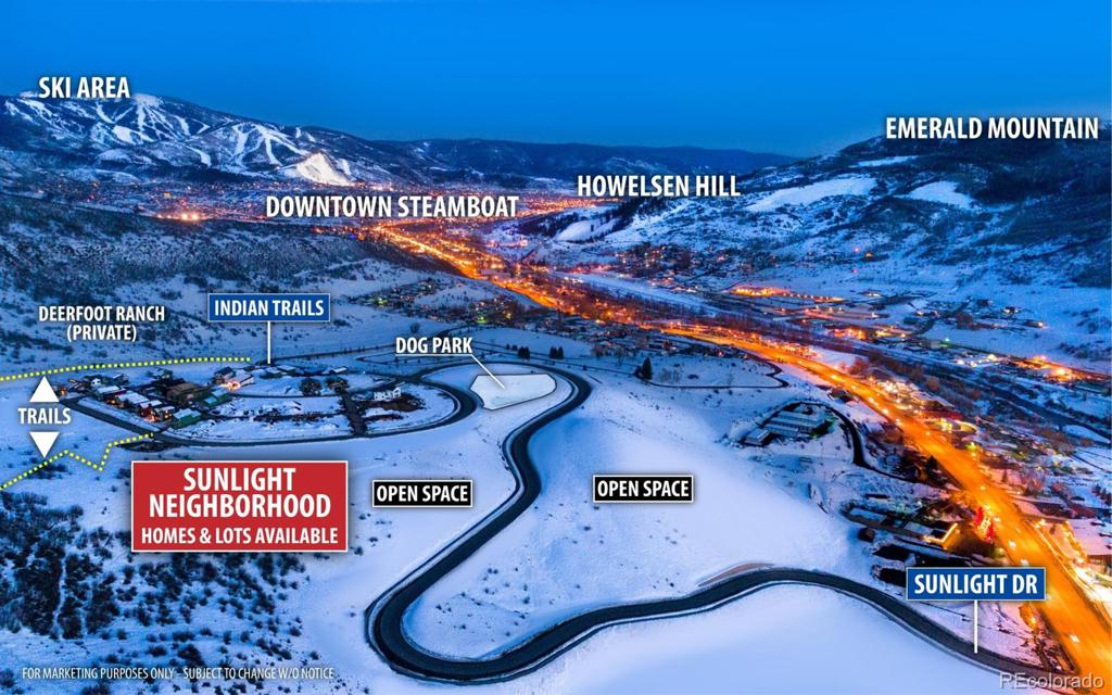 Photo of home for sale at 1798 Sunlight Drive, Steamboat Springs CO