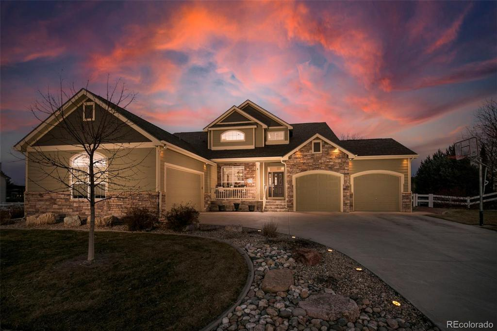 Photo of home for sale at 8374 Stay Sail Drive, Windsor CO