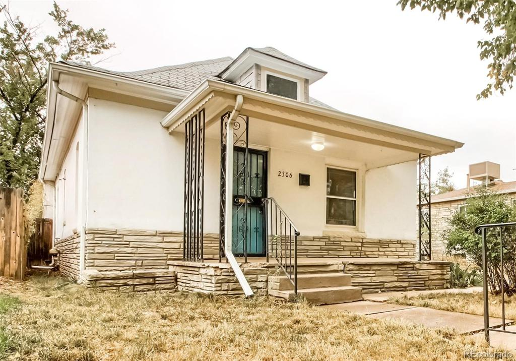 Photo of home for sale at 2306 Acoma Street S, Denver CO