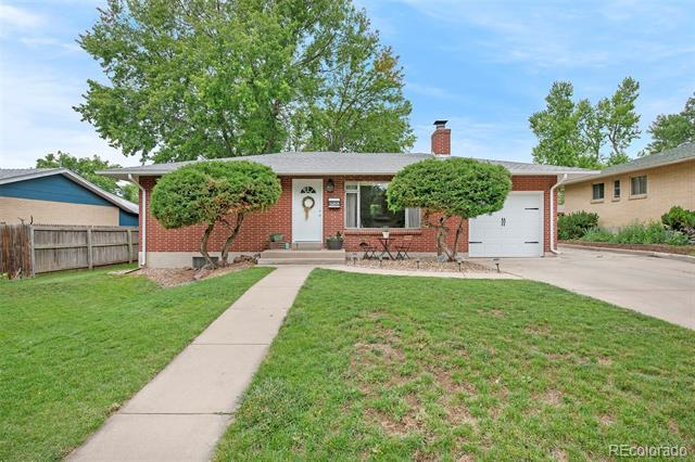 Photo of home for sale at 3265 Newton Street South, Denver CO