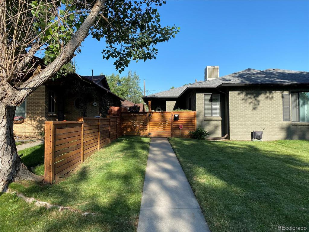 Photo of home for sale at 751 Clermont Street, Denver CO