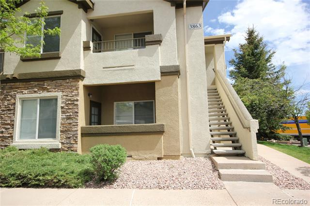 Photo of home for sale at 3863 Riviera Grove, Colorado Springs CO