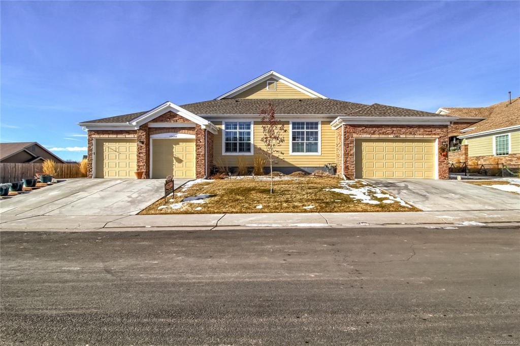 Photo of home for sale at 12685 Madison Street, Thornton CO