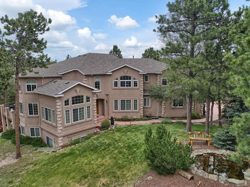 Photo of home for sale at 17547 Colonial Park Drive, Monument CO