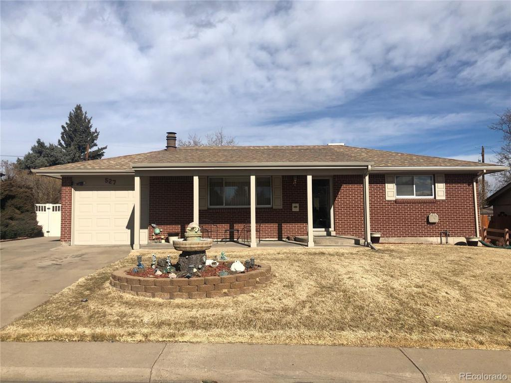 Photo of home for sale at 527 Polaris Place, Thornton CO