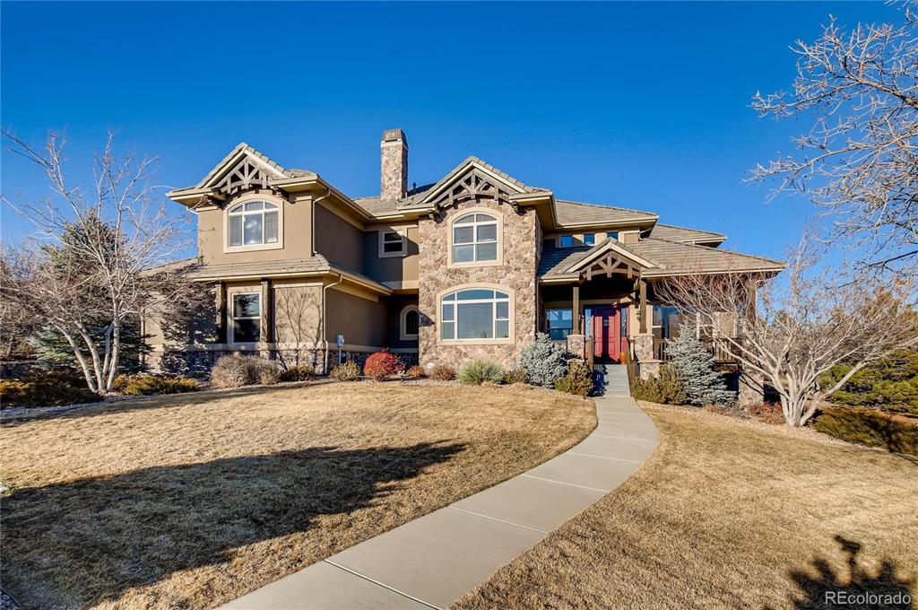 Photo of home for sale at 4937 Wilderness Place, Parker CO