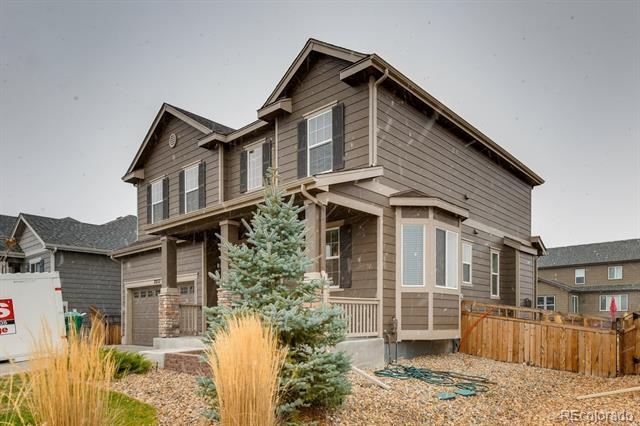 Photo of home for sale at 7857 Blue Water Lane, Castle Rock CO