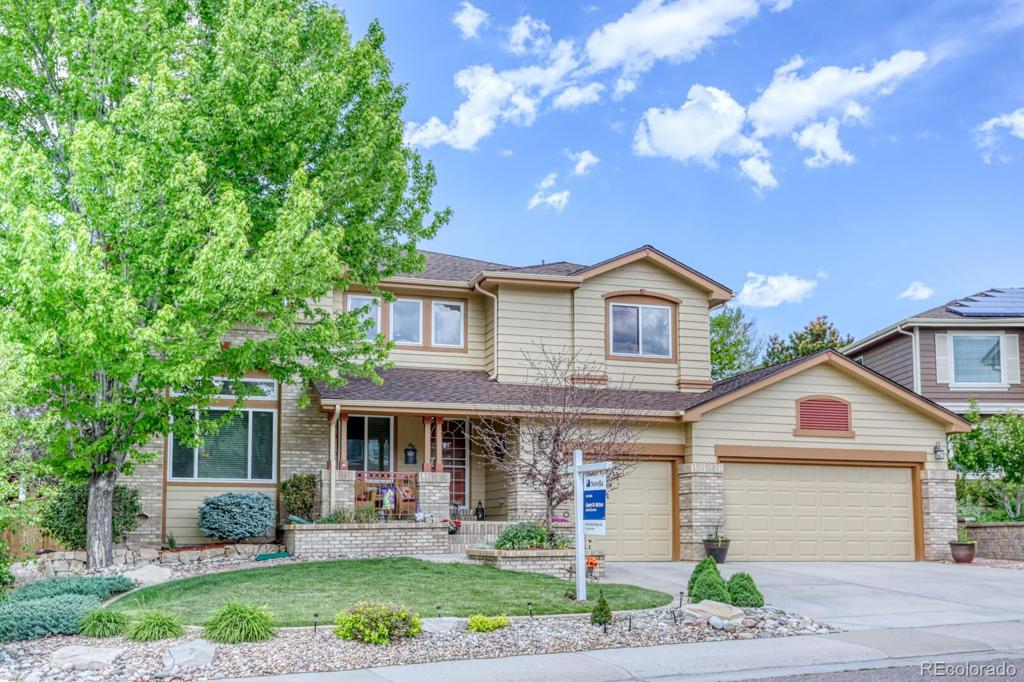 Photo of home for sale at 6453 Dutch Creek Street, Highlands Ranch CO