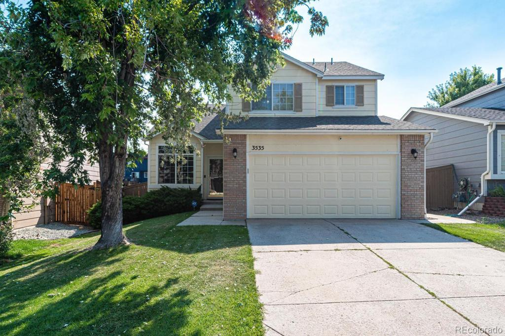 Photo of home for sale at 3535 Morning Glory Drive, Castle Rock CO