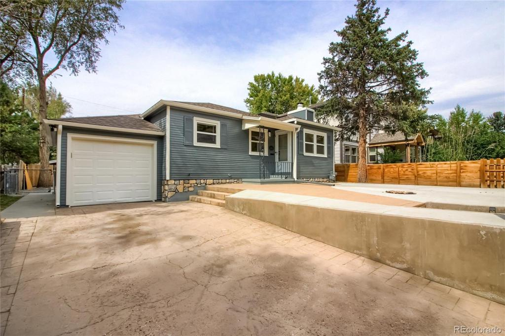 Photo of home for sale at 1479 Steele Street S, Denver CO
