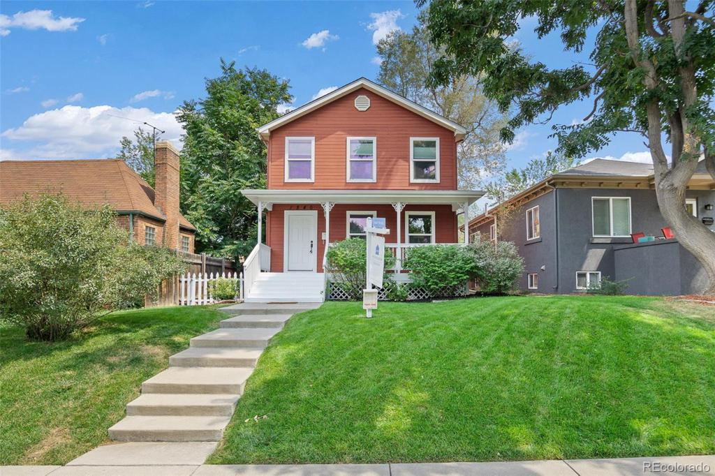 Photo of home for sale at 1540 Albion Street, Denver CO
