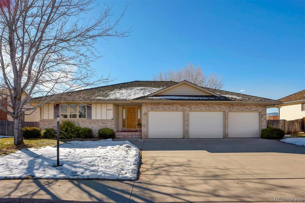 Photo of home for sale at 2872 Zachary Drive, Loveland CO