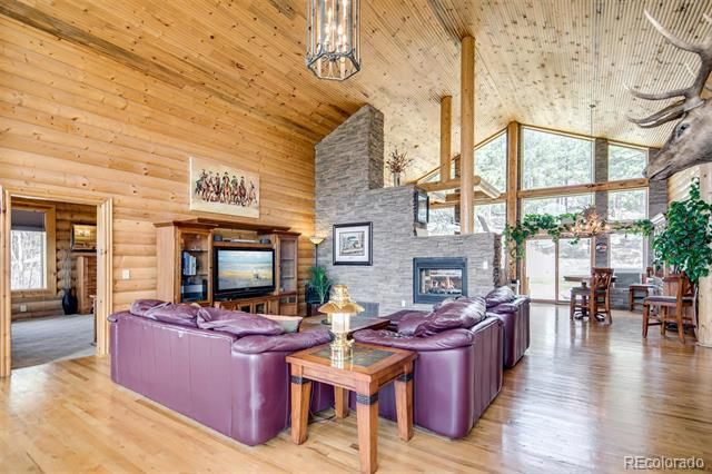 Photo of home for sale at 18501 County Road 1, Larkspur CO