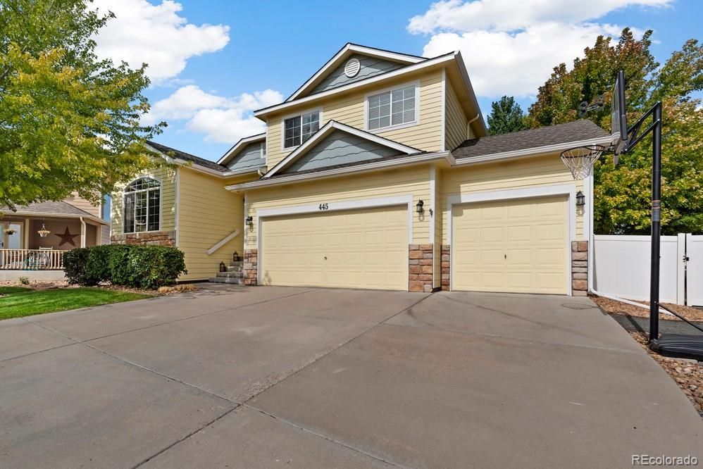 Photo of home for sale at 445 Wrybill Court, Loveland CO