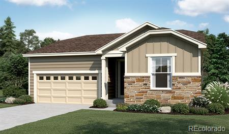 Photo of home for sale at 4608 Nepal Way South, Aurora CO