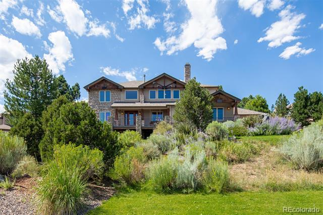 Photo of home for sale at 5415 Sage Thrasher Road, Parker CO