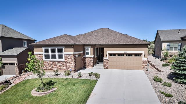 Photo of home for sale at 762 Sally Hill Court, Monument CO