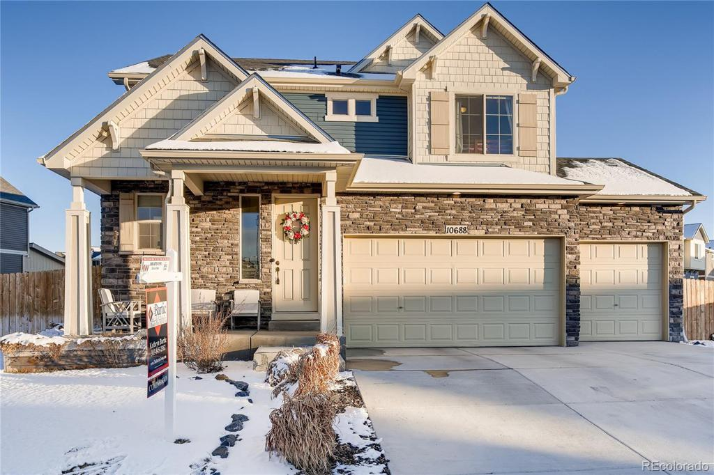 Photo of home for sale at 10688 Worchester Street, Commerce City CO