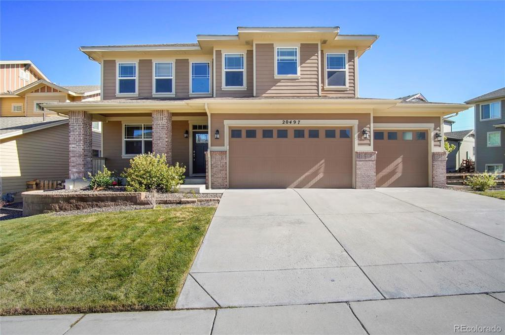 Photo of home for sale at 20497 Narrow Pine Lane, Parker CO