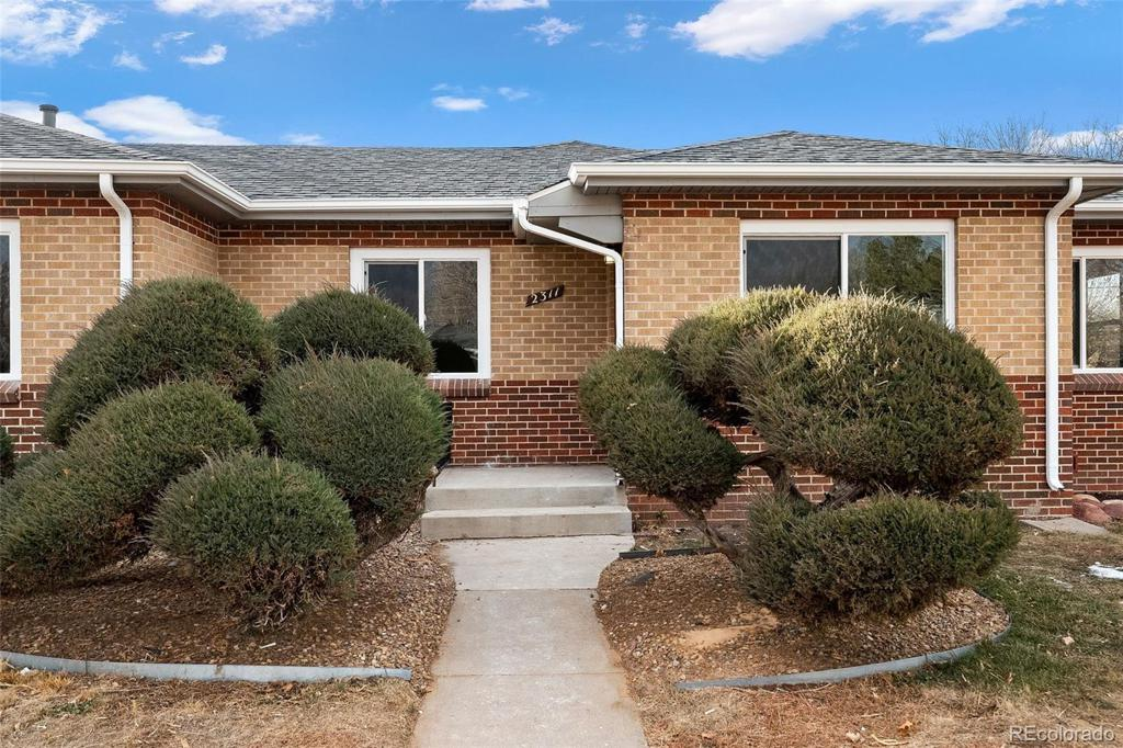 Photo of home for sale at 2311 Newport Street, Denver CO