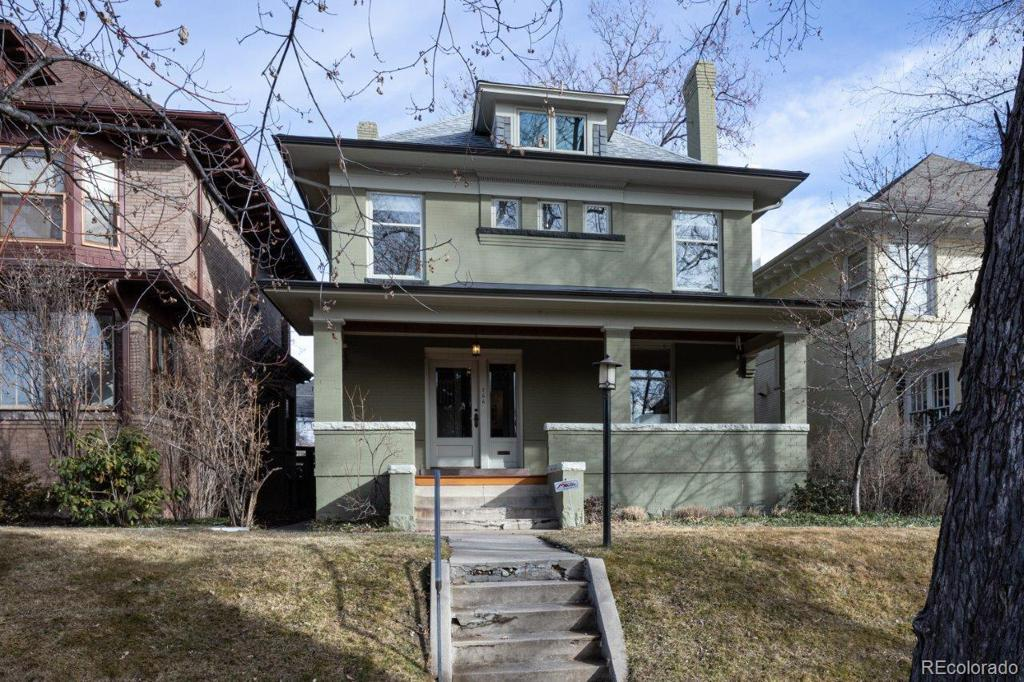 Photo of home for sale at 766 Marion Street N, Denver CO