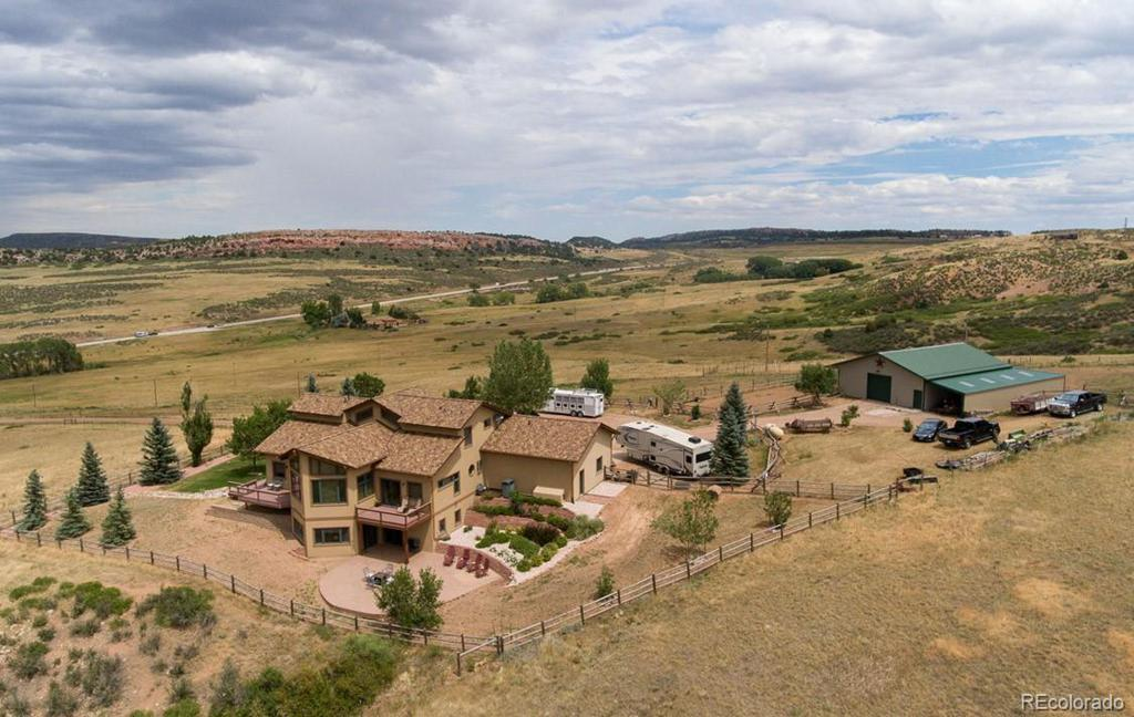 Photo of home for sale at 185 Rattlesnake Road, Livermore CO