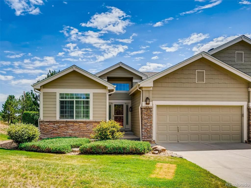 Photo of home for sale at 7430 Pineridge Way, Castle Pines CO