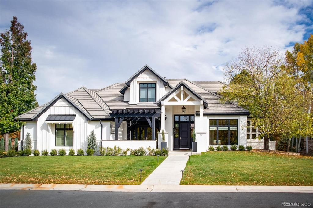 Photo of home for sale at 43 Covington Court, Cherry Hills Village CO