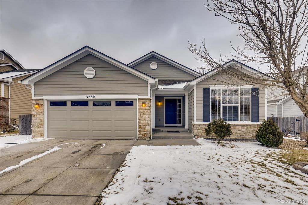 Photo of home for sale at 11560 Leyden Street, Thornton CO