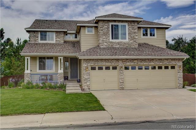 Photo of home for sale at 8850 Cannes Drive W, Littleton CO