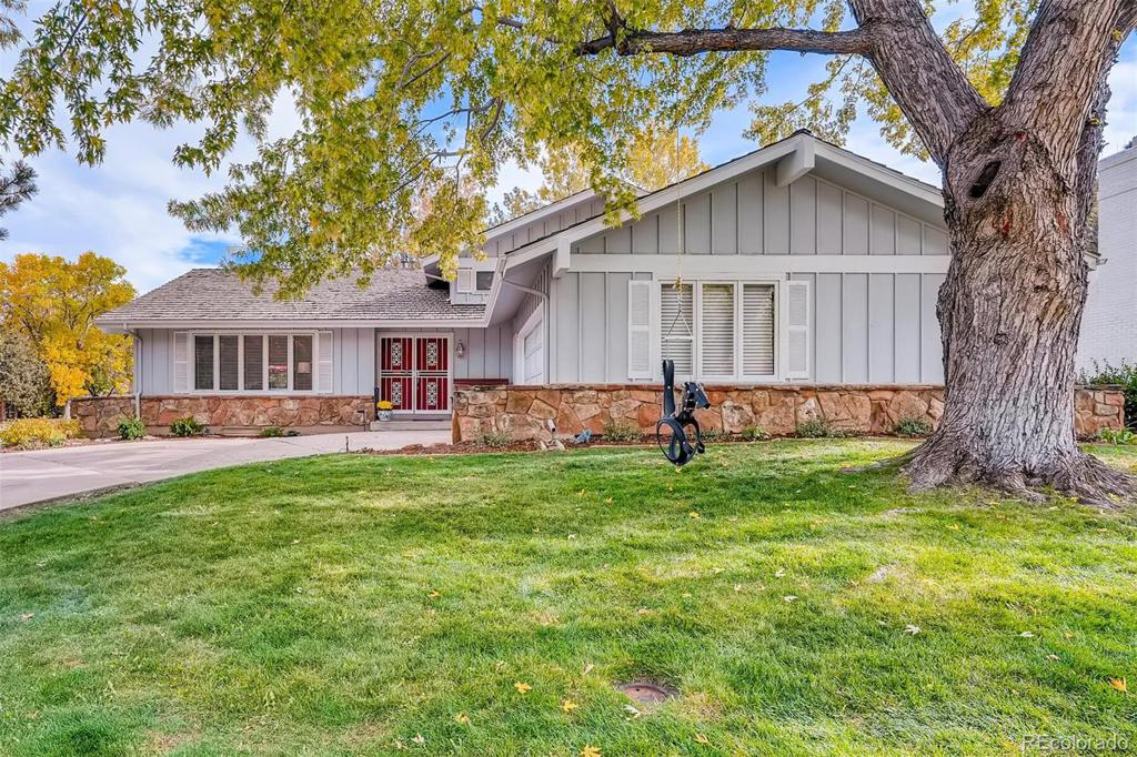 Photo of home for sale at 4164 Oneida Street S, Denver CO