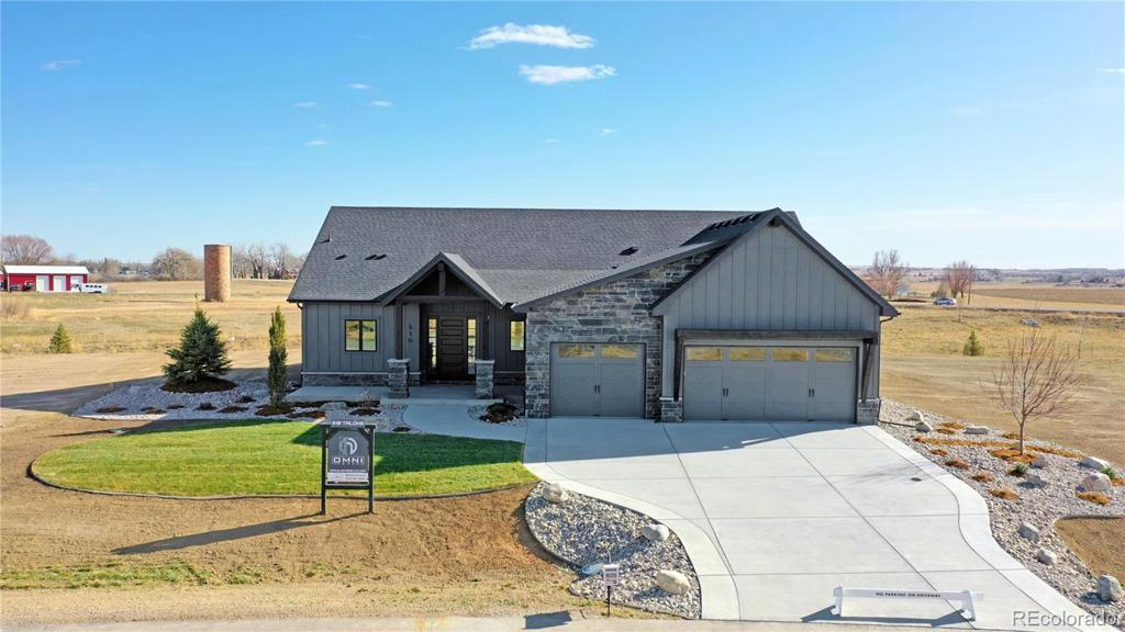Photo of home for sale at 510 Talons Reach Run, Berthoud CO