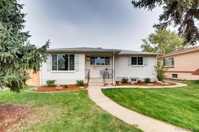 Photo of home for sale at 1808 Clay Street South, Denver CO