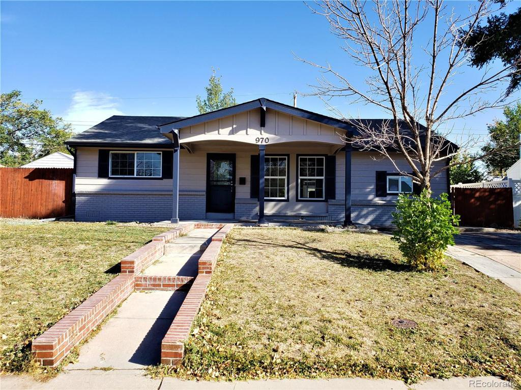 Photo of home for sale at 970 Macon Street, Aurora CO