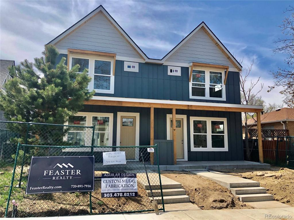 Photo of home for sale at 4300 Raleigh Street, Denver CO