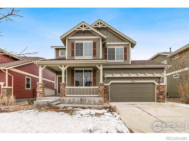 Photo of home for sale at 3739 Eclipse Lane, Fort Collins CO